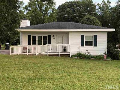 Knightdale NC Single Family Home For Sale: $144,999