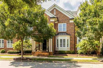 Raleigh Townhouse For Sale: 3607 Rolston Drive