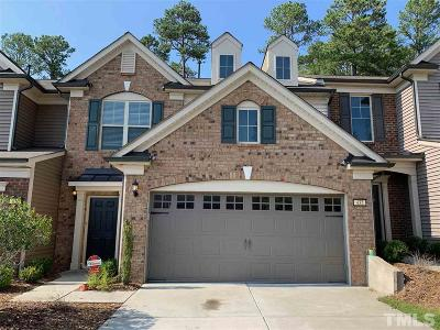 Cary Townhouse For Sale: 432 Chanson Drive