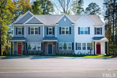 Raleigh Townhouse For Sale: 3702 Buffaloe Road #6