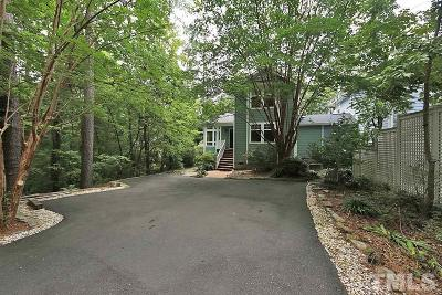 Chapel Hill Single Family Home For Sale: 503B Monroe Street