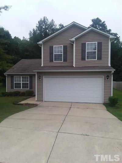 Fuquay Varina Single Family Home For Sale: 252 N Honey Springs