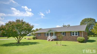 Harnett County Single Family Home For Sale: 18 McLean Chapel Church Road