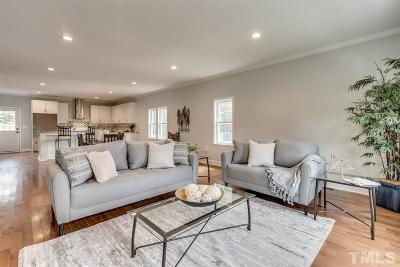 Durham County Single Family Home For Sale: 1305 S Roxboro Street