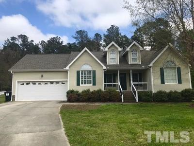 Rolesville Single Family Home Pending: 400 Roncaro Court