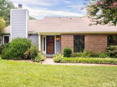 Cary Townhouse For Sale: 214 Clancy Circle