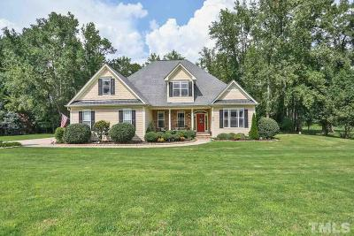Holly Springs Single Family Home For Sale: 4605 Basilica Drive