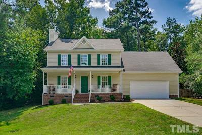 Holly Springs Single Family Home Pending: 205 Avent Pines Lane