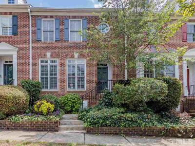 Chapel Hill Townhouse Contingent: 403 Copperline Drive