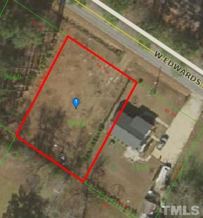 Johnston County Residential Lots & Land For Sale: 527 W Edwards Street