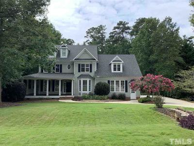 Apex Single Family Home For Sale: 3820 Wesley Ridge Drive