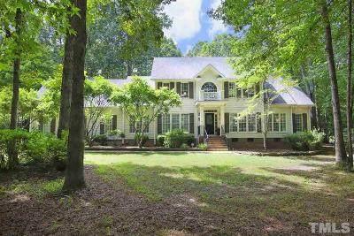 Wake Forest Single Family Home For Sale: 8000 Hawkshead Road