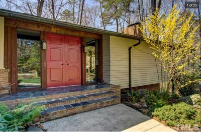Durham Single Family Home For Sale: 3860 Somerset Drive