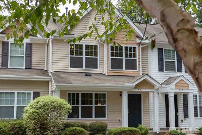 Apex Townhouse Contingent: 321 Port Haven Drive