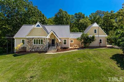 Chatham County Single Family Home Pending: 280 Country Lane