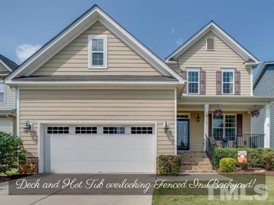 Apex Single Family Home For Sale: 5312 Maplechase Lane