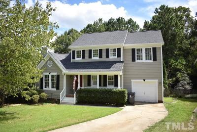 Morrisville Single Family Home Contingent: 128 Waltons Creek Road