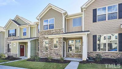 Wake Forest Townhouse For Sale: 1212 Treetop Meadow Lane #35
