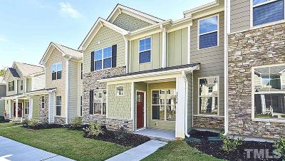Wake Forest Townhouse For Sale: 1216 Treetop Meadow Lane #34