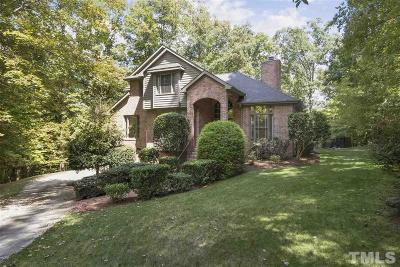 Chapel Hill Single Family Home For Sale: 108 Umbrio Lane