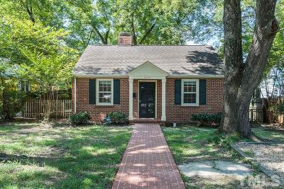 Chapel Hill Single Family Home Contingent: 503 Pritchard Avenue