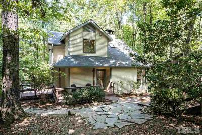 Carrboro Single Family Home Contingent: 110 Rock Spring Court
