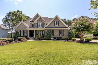 Wake Forest Single Family Home Contingent: 1232 Heritage Heights Lane