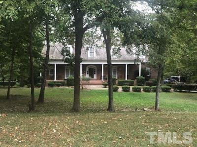 Durham Single Family Home For Sale: 2116 Vintage Hill Drive