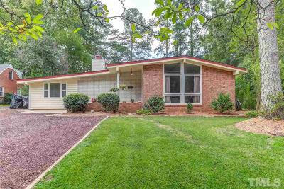 Cary Single Family Home Contingent: 513 S Harrison Avenue