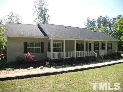 Wake Forest Single Family Home For Sale: 3199 Buckhorn Lane