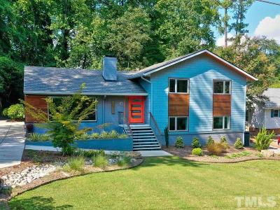 Raleigh Single Family Home For Sale: 2312 Woodrow Drive