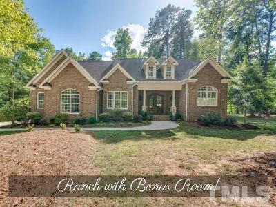 Granville County Single Family Home For Sale: 1069 Silverleaf Drive