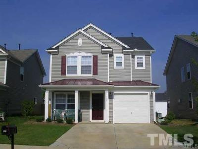 Holly Springs Single Family Home Contingent: 108 Sanchez Court