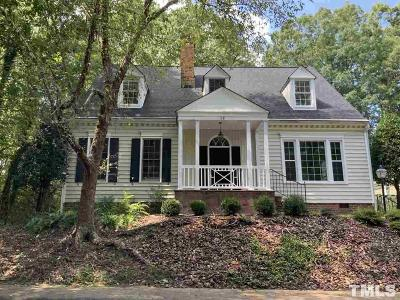 Durham Single Family Home For Sale: 36 Cheswick Place