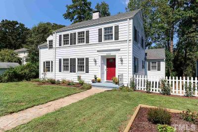 Wake County Single Family Home For Sale: 2224 Creston Road