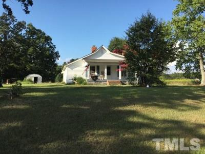 Durham Single Family Home For Sale: 920 Sherron Road