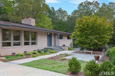 Chapel Hill Single Family Home Contingent: 604 Caswell Road