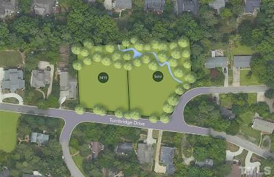 Wake County Residential Lots & Land For Sale: 3415 Turnbridge Drive