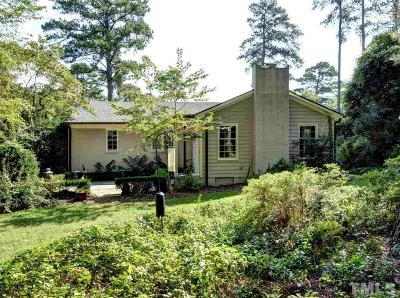 Wake County Single Family Home For Sale: 2765 Toxey Drive