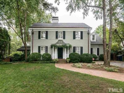 Raleigh Single Family Home For Sale: 1806 Chester Road