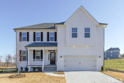 Wake Forest Single Family Home Pending: 2921 Thurman Dairy Loop #Lot 34