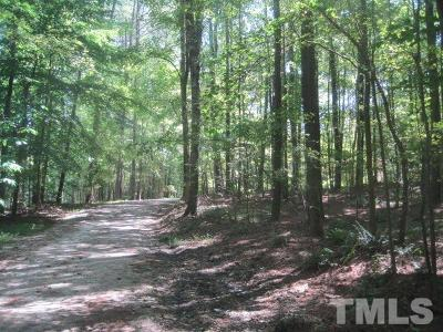 Wake County Residential Lots & Land For Sale: 13417 New Light Road