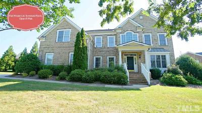 Wake County Single Family Home For Sale: 10520 Tarton Fields Circle