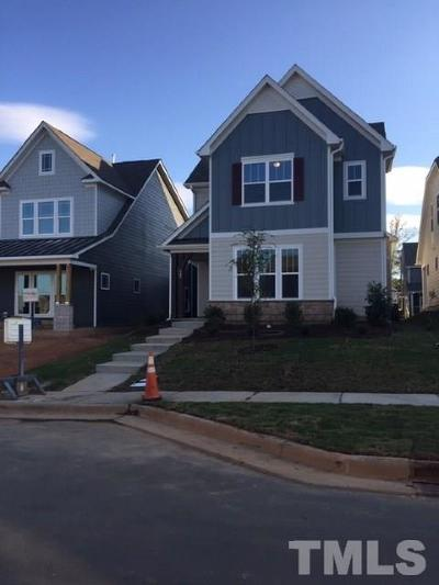 Holly Springs Single Family Home For Sale: 309 Masden Road #Lot 334