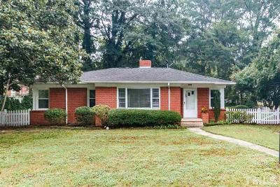 Fuquay Varina Single Family Home Contingent: 206 N Aiken Street