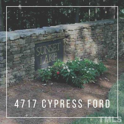 Fuquay Varina Residential Lots & Land For Sale: 4717 Cypress Ford Drive