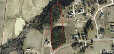 Wake County Residential Lots & Land For Sale: 8309 Cunningham Road