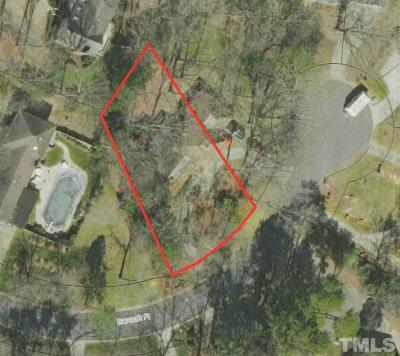 Wake County Residential Lots & Land For Sale: 1207 Barcroft Place