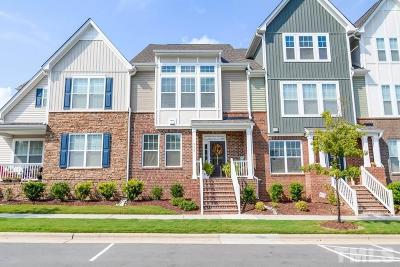 Cary Townhouse For Sale: 911 Rosepine Drive
