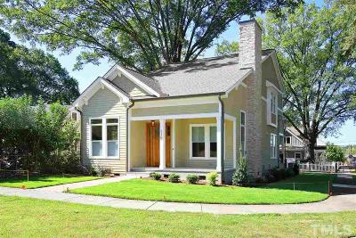 Durham Single Family Home For Sale: 215 Northwood Circle